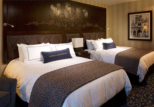Disneyland Hotel Rooms