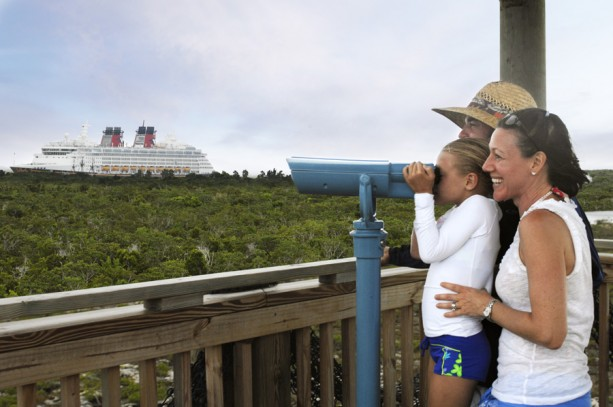 Observation Tower on Disney's Castaway Cay