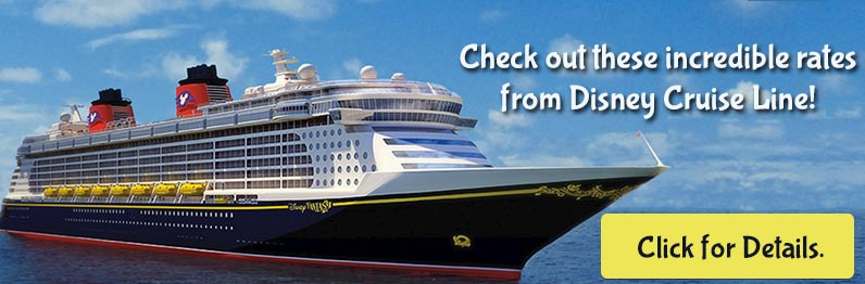 Great Offers from Disney Cruise Line