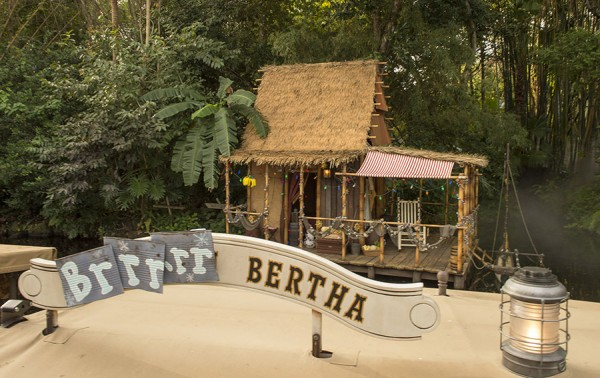 Jingle Cruise Boat from the Magic Kingdom