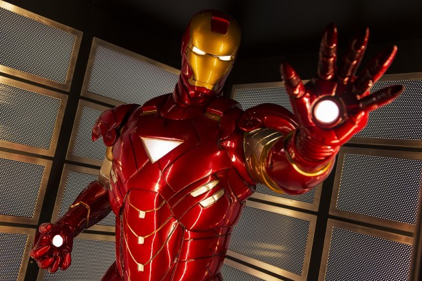 Iron Man's high-tech suit of armor
