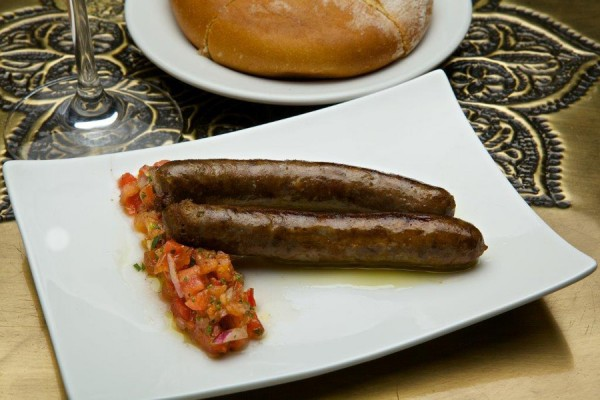 Moroccan Mergues Sausage at Spice Road Table
