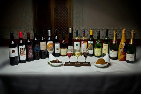Wines Available at Spice Road