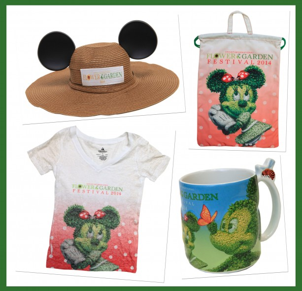 New Merchandise to Bloom at the 2014 Epcot International Flower & Garden Festival