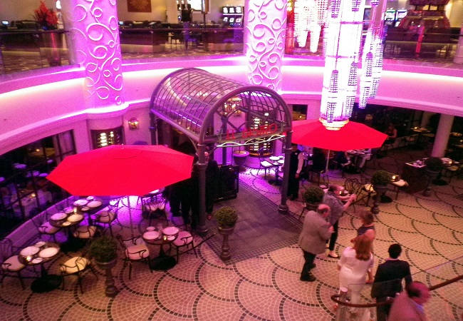 Norwegian Getaway Le Bistro Entry at Night