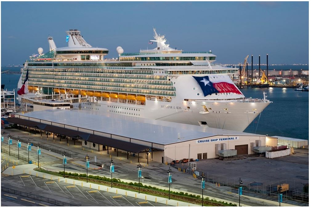 Royal Caribbean's Navigator of the Seas Arrives in Texas