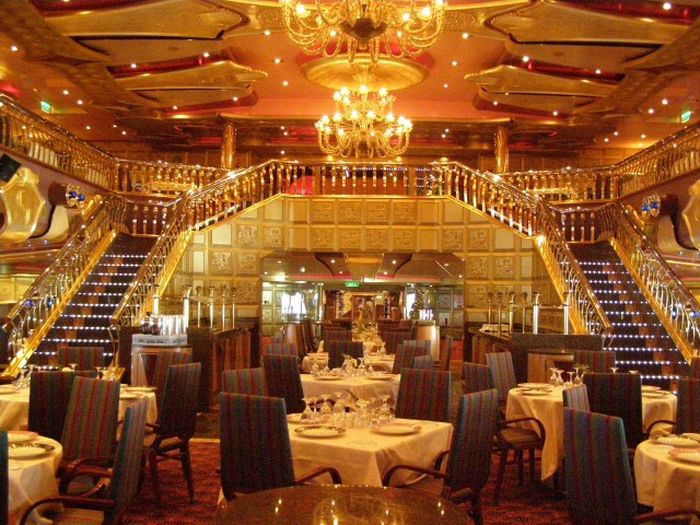 Carnival Liberty Launches Year Round Service from Port  : Carnival Liberty Gold Dining Roompreview from www.kingdommagictravel.com size 640 x 480 jpeg 128kB
