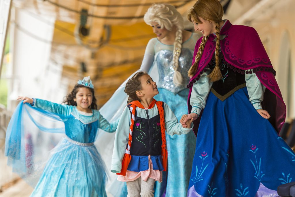 """Frozen"" Fun Aboard Disney Cruise Line"
