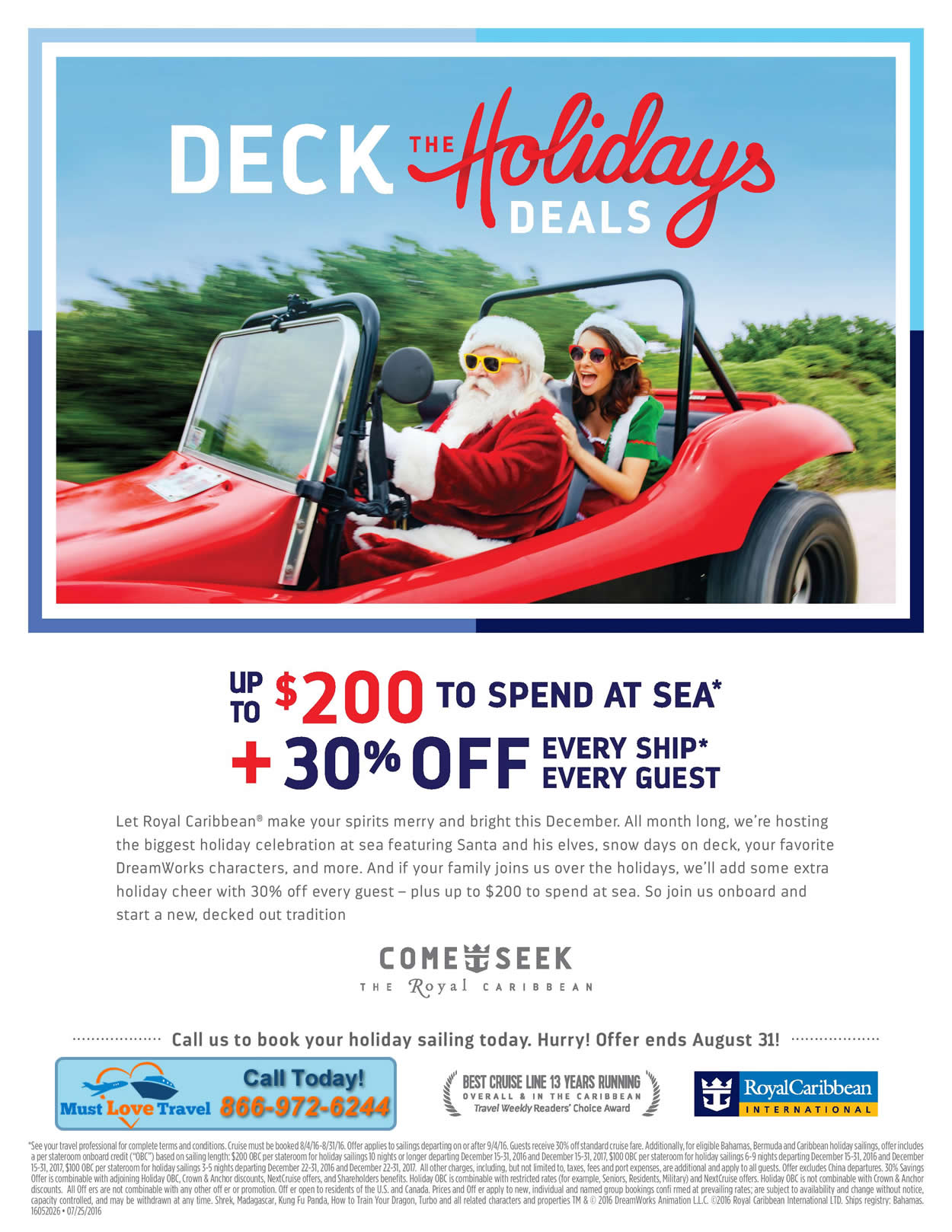 Deck the holidays deals kingdom magic vacations for Decking special offers