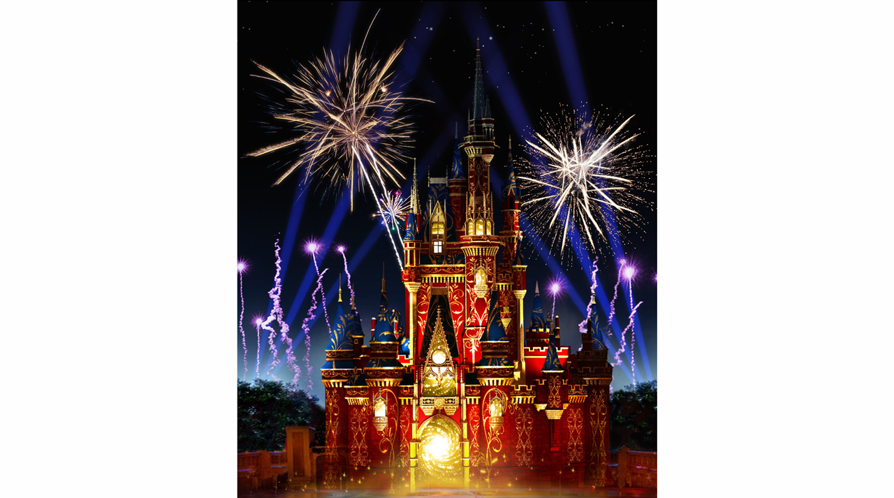 """Happily Ever After,"" a new nighttime spectacular that will combine the magic of Disney storytelling, beloved Disney characters, fireworks and so much more, will debut at Magic Kingdom Park on May 12."