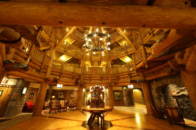 Wilderness Lodge Lobby