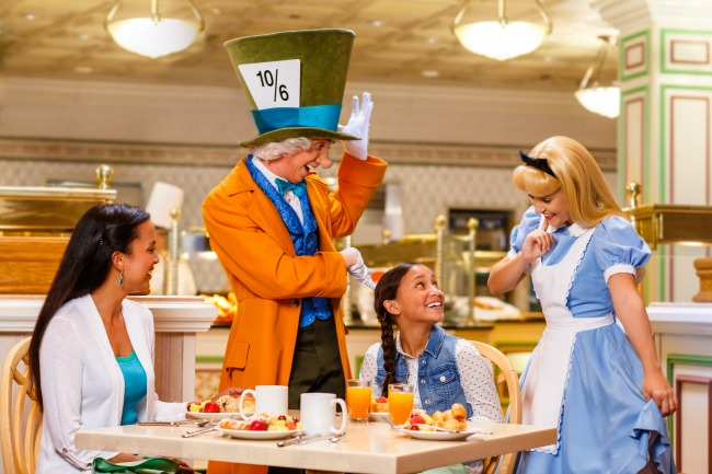 1900 Park Fare Breakfast at Disney's Grand Floridian
