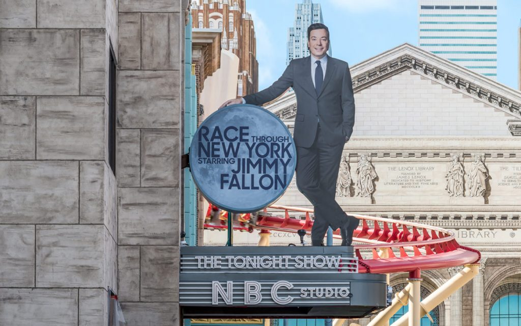 """Race Through New York Starring Jimmy Fallon"" In Limited Previews"
