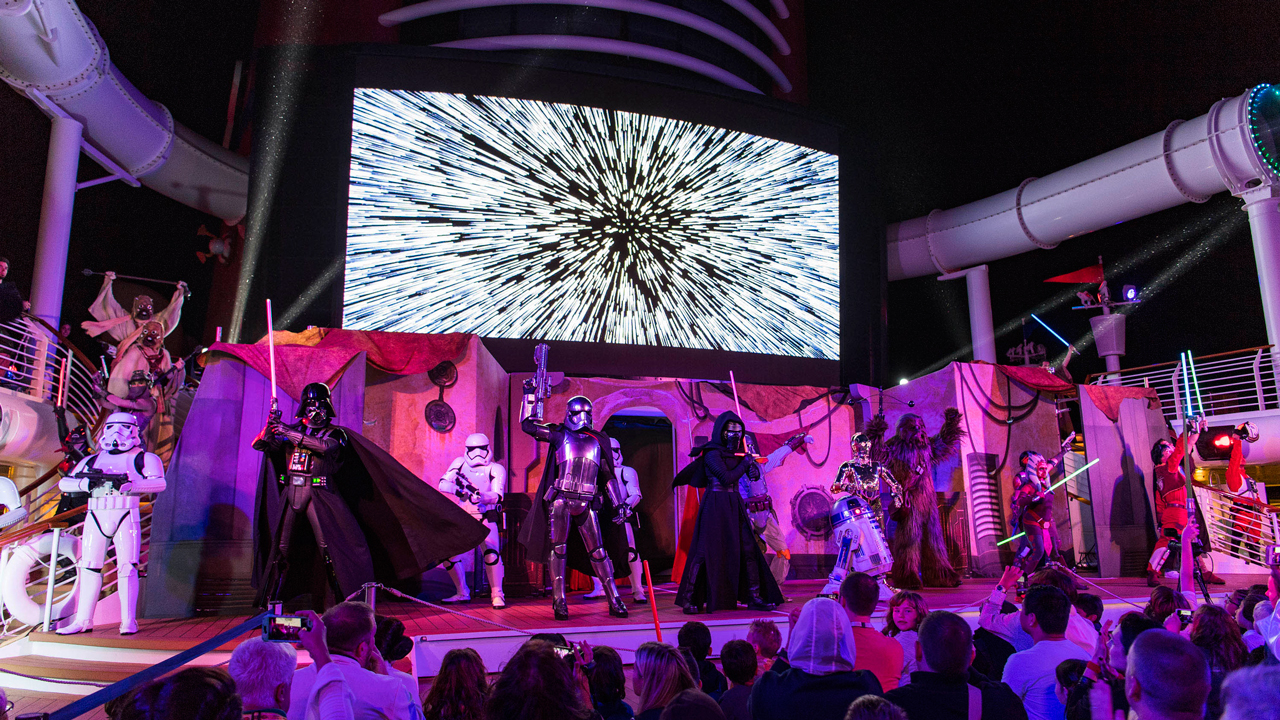 The Force Grows Stronger Aboard Star Wars Day at Sea 2017