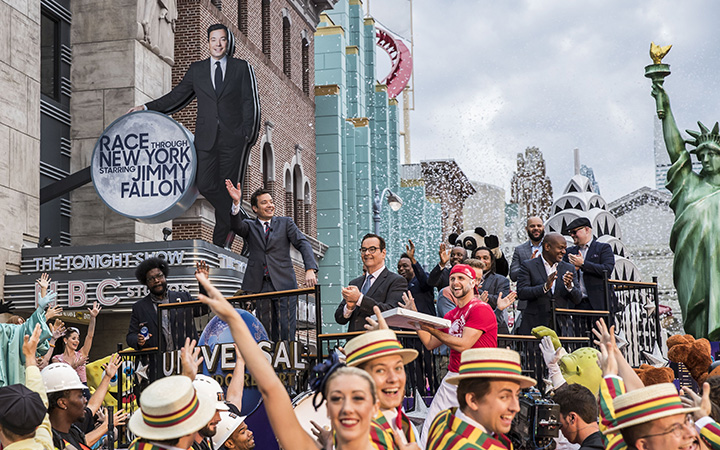 "Now Open: ""race Through New York Starring Jimmy Fallon"""