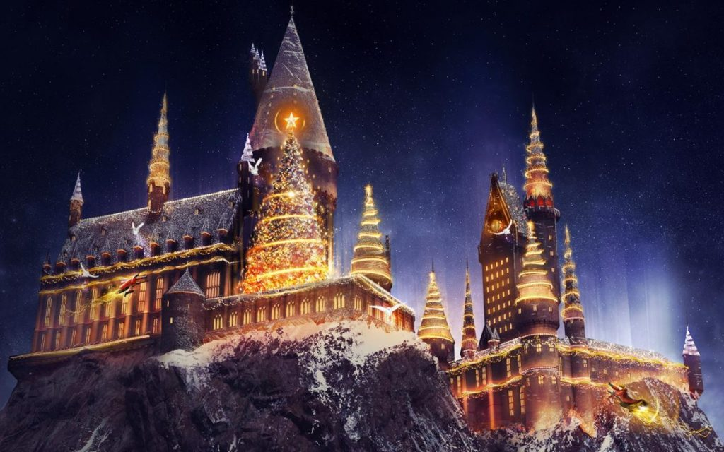 New Holiday Entertainment Including Christmas At The Wizarding World Of Harry Potter
