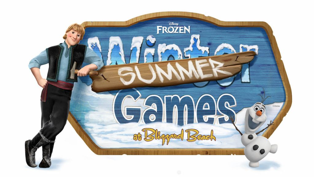 Frozen Summer Games Coming to Disney's Blizzard Beach Water Park