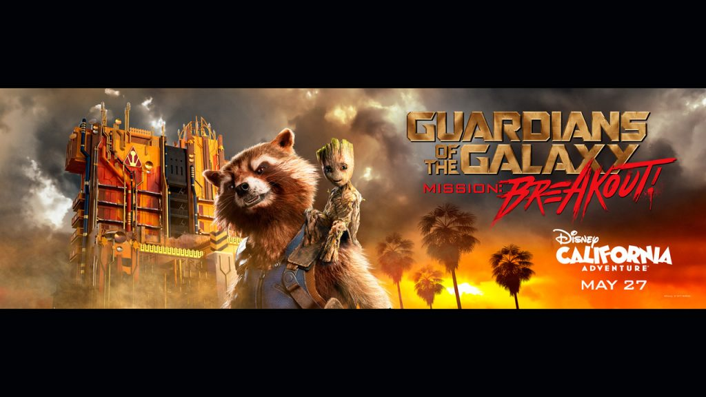 Meet the Heroes of Guardians of the Galaxy – Mission: BREAKOUT! Coming to Disney California Adventure May 27