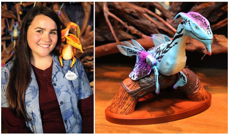 Connect With a Banshee at The Rookery inside Windtraders in Pandora – The World of Avatar