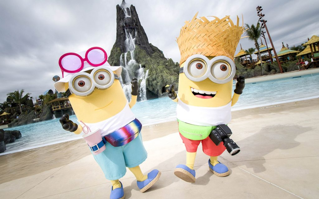 Meet The New Characters From Despicable Me 3 At Universal Studios Florida