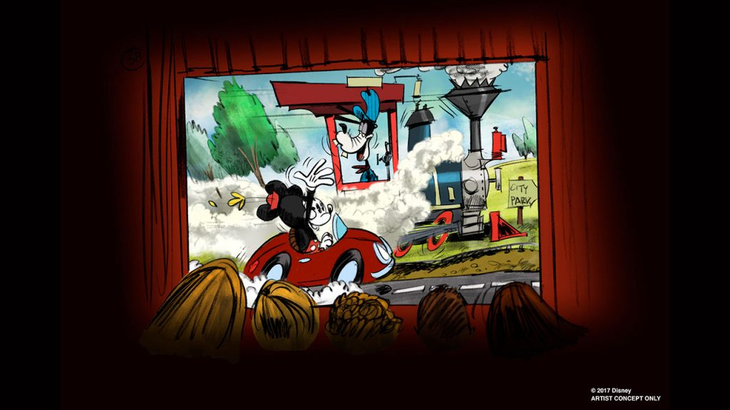 First Mickey-Themed Ride-Through Attraction, Mickey and Minnie's Runaway Railway, Coming to Disney's Hollywood Studios