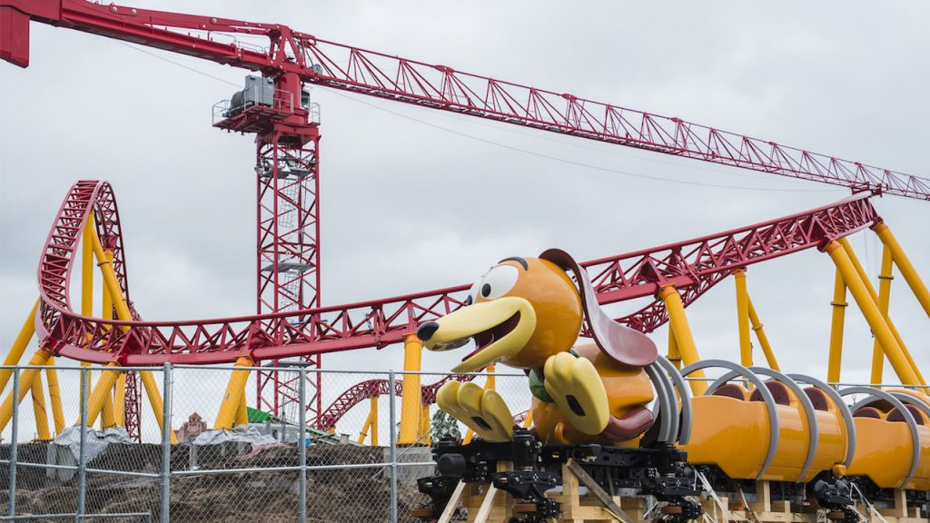 First Look: Slinky Dog Dash Ride Vehicle Arrives At Disney's Hollywood Studios