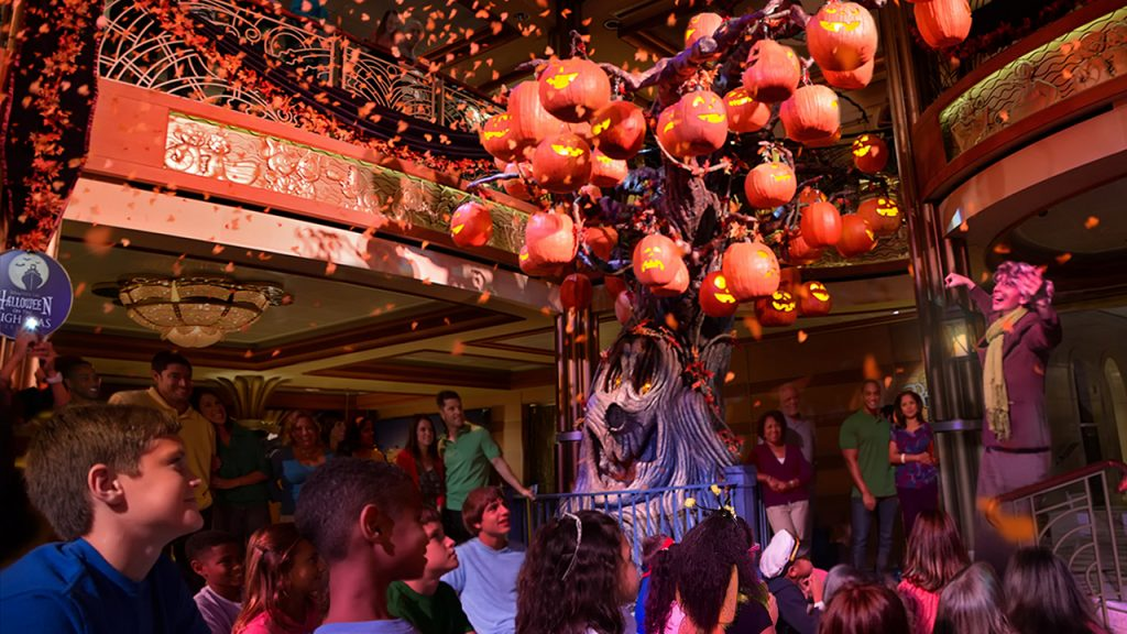 Spooky Fun During Halloween on the High Seas Aboard Disney Cruise Line
