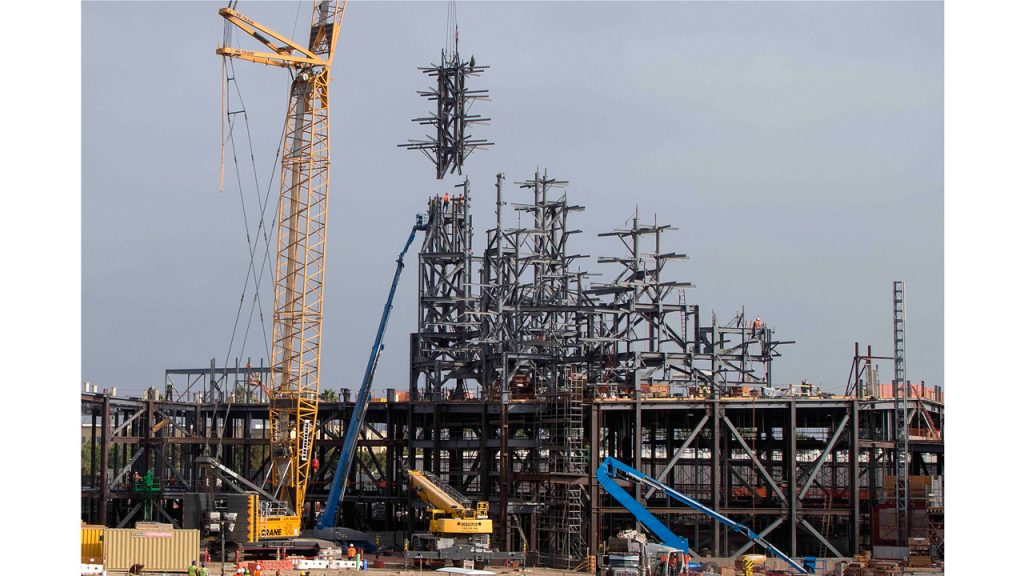 Star Wars: Galaxy's Edge Construction Milestone Celebrated at Disneyland Park