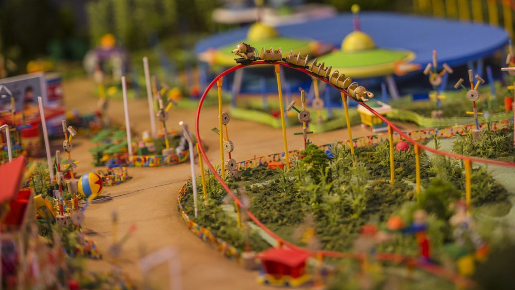 Toy Story Land Model & More Now on Display at Walt Disney Presents