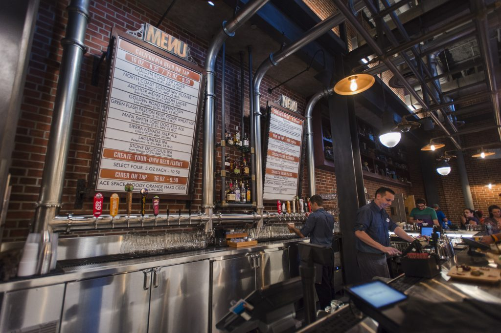 BaseLine Tap House Debuts in the New Grand Avenue Area at Disney's Hollywood Studios