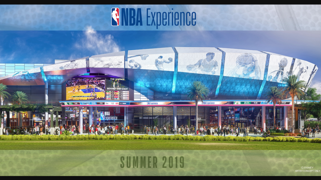 A First Look at The NBA Experience at Walt Disney World Resort Coming Summer 2019