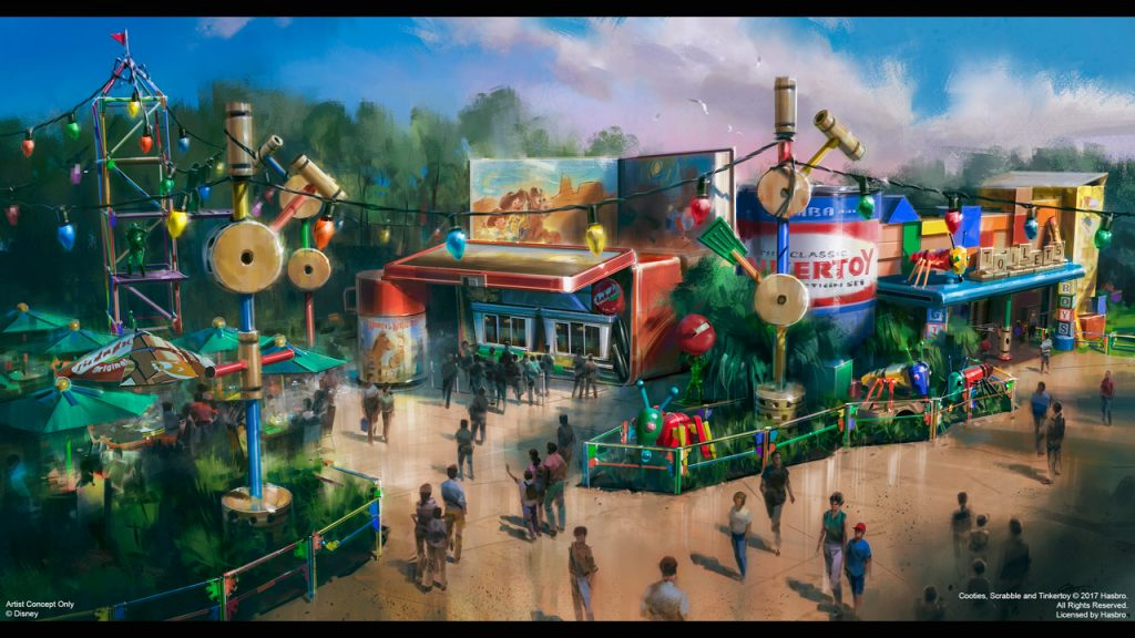All in the Details: First Look at Woody's Lunch Box in Toy Story Land
