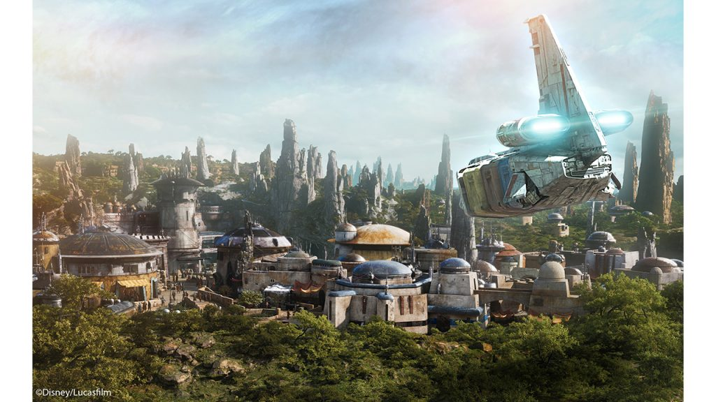Star Tours Gives Guests First Peek at Star Wars: Galaxy's Edge Planet at Disney Parks