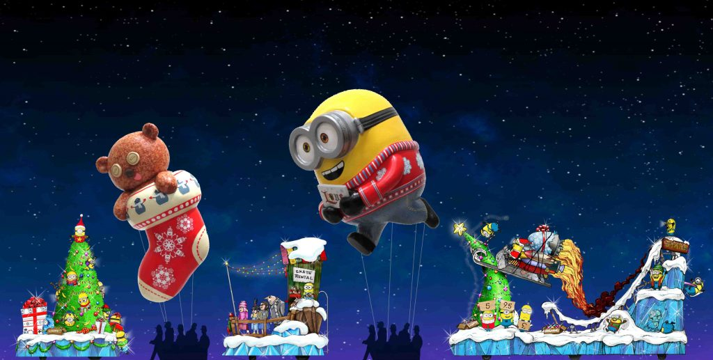Despicable Me, Shrek, Madagascar and Holiday Favorites Spread the Cheer in the New Universal's Holiday Parade Featuring Macy's