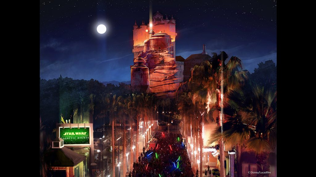New Celebs, Stunning Projections & More Announced for Star Wars Galactic Nights