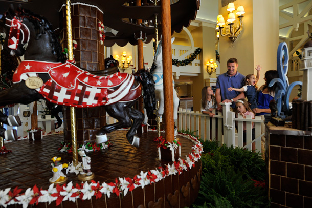Fantastical Gingerbread Displays Decorate the Walt Disney World Resort