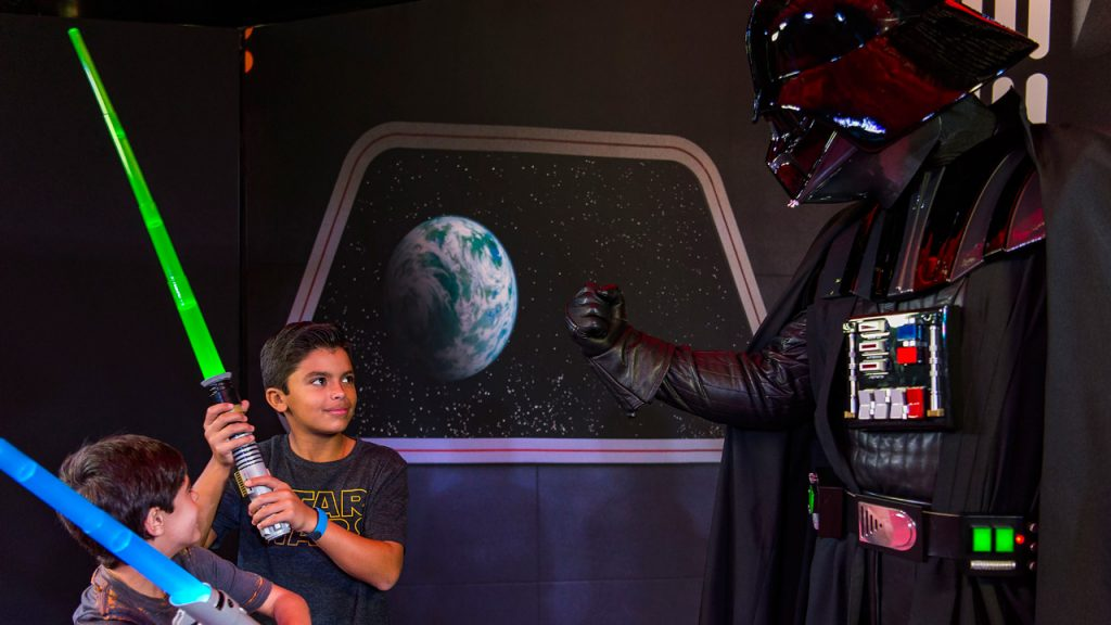 Meet Chewbacca, C-3PO, R2-D2, Darth Vader and More During Star Wars Day at Sea